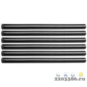 STAYER Black черные клеевые стержни, d 11 мм х 200 мм  6 шт. 125 г.