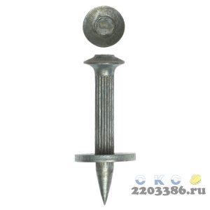 Дюбель гвоздевой оцинкованный, с насаженной шайбой, 40 х 3.7 мм, 15 шт, ЗУБР