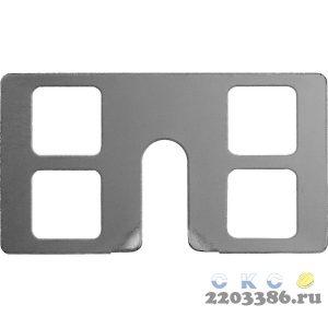 ЗУБР КРЕММЕР-100  крепление для установки маячковых профилей, 100 шт