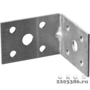 Уголок крепежный усиленный УКУ-2.0, 35х50х50 х 2мм, ЗУБР