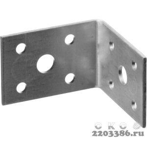 Уголок крепежный УК-2.0, 35х50х50 х 2мм, ЗУБР