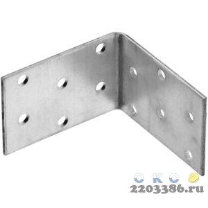 Уголок крепежный равносторонний УКР-2.0, 40х60х60 х 2мм, ЗУБР