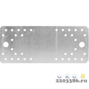 Крепежная пластина 210х90 х 2мм, КП-2.0 ЗУБР