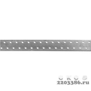 Пластина соединительная ПС-2.0, 40х300 х 2мм, ЗУБР