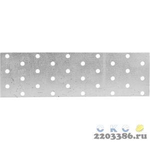 Пластина соединительная ПС-2.0, 60х200 х 2мм, ЗУБР