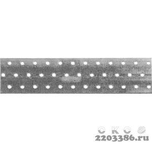 Пластина соединительная ПС-2.0, 60х240 х 2мм, ЗУБР