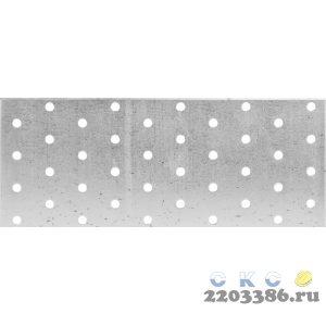 Пластина соединительная ПС-2.0, 80х200 х 2мм, ЗУБР