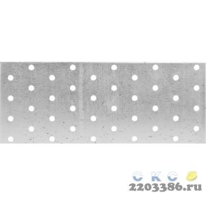 Пластина соединительная ПС-2.0, 80х300 х 2мм, ЗУБР