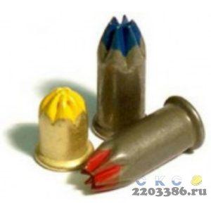 Патроны монтажные Д-3 синий (6,8*18) 100 шт/уп. (100уп/кор)