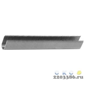ЗУБР 14 мм скобы для степлера кабельные тип 36, 1000 шт