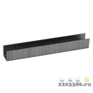 ЗУБР 10 мм скобы для степлера плоские тип 140, 1000 шт