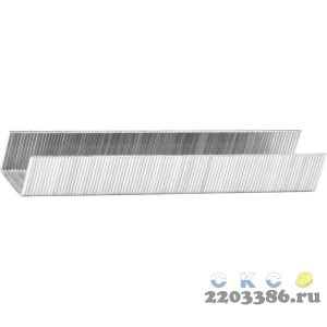 KRAFTOOL 10 мм скобы для степлера тонкие тип 53, 1000 шт
