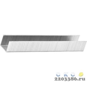 KRAFTOOL 10 мм скобы для степлера тонкие тип 140, 1000 шт