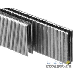 ЗУБР 25 мм скобы для степлера тонкие, широкие тип 55, 2500 шт