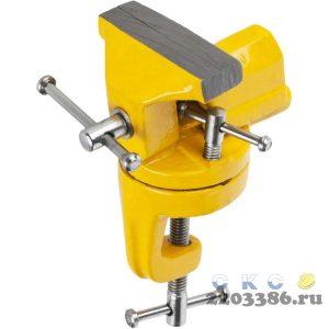 STAYER, 70 мм, настольные тиски для точных работ