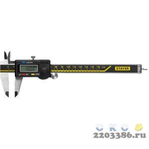 STAYER PROFESSIONAL штангенциркуль электронный, нерж сталь, 150мм