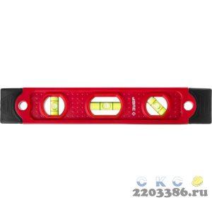 ЗУБР Компакт 230 мм короткий магнитный уровень