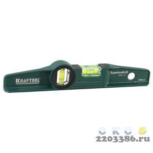 Kraftool PROCAST 250 мм, магнитный литой уровень
