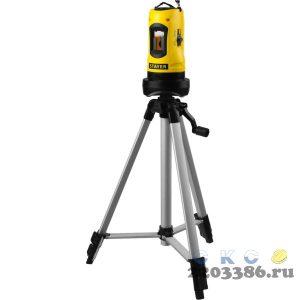 STAYER SLL-2 нивелир лазерный, 10м, точн. +/-0,5 мм/м,  штатив, кейс