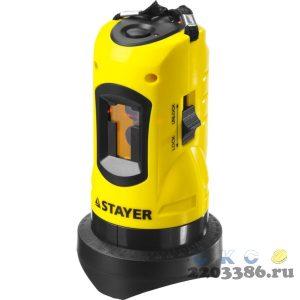 STAYER SLL-1 нивелир лазерный, 10м, точн. +/-0,5 мм/м