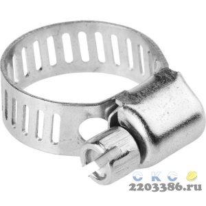 Хомуты стальные оцинкованные, 11-20 мм, 5шт, STAYER