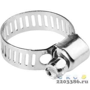 Хомуты стальные оцинкованные, 13-23 мм, 5шт, STAYER