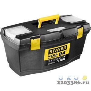 """Ящик для инструмента """"VEGA-24"""" пластиковый, STAYER"""