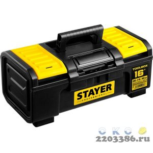 "Ящик для инструмента ""TOOLBOX-16"" пластиковый, STAYER Professional"