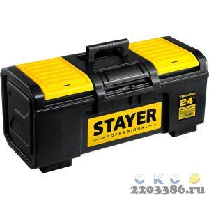 """Ящик для инструмента """"TOOLBOX-24"""" пластиковый, STAYER Professional"""