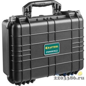 """Ящик ударопрочный """"PANZER"""" пластиковый, степень защиты IP55, 16"""", KRAFTOOL"""