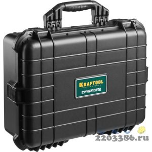 """Ящик ударопрочный """"PANZER"""" пластиковый, степень защиты IP55, 20"""", KRAFTOOL"""