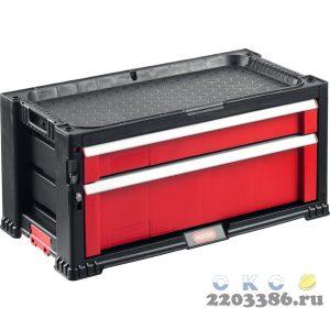 """Ящик с 2 выдвижными полками """"DRAWER-2"""", 22"""" KETER"""
