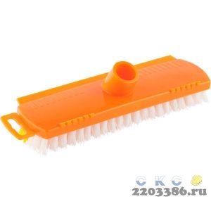 Щетка DEXX для пола, пластиковая, с короткой жесткой щетиной