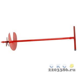 Бур садовый ручной, диаметр 250 мм