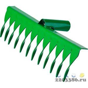 РОСТОК 12 витых зубцов, 312x72 мм, грабли