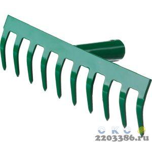 РОСТОК 10 прямых зубцов, 260x60 мм, грабли