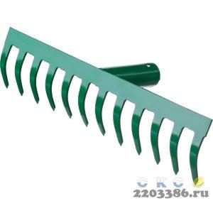 РОСТОК 12 прямых зубцов, 312x60 мм, грабли