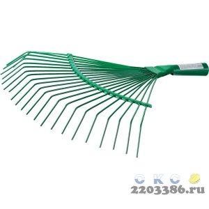 Грабли веерные без черенка, РОСТОК 39620, проволочные, 375x430 мм