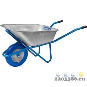 ЗУБР ПТ-200 тачка строительная одноколесная, 220 кг