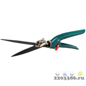 Ножницы для стрижки травы, RACO 4202-53/114C, 3-позиционные, поворотный механизм 180 градусов, 350мм