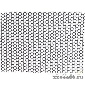 Сетка газонная Grinda против кротов, цвет черный, 1х10 м, ячейка 9х9 мм