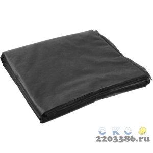 Укрывной материал GRINDA, СУФ-60, черный, фасованый, ширина - 2,1м, длина - 10м