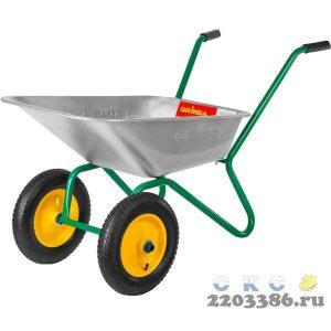 GRINDA GB-2 тачка садовая двухколесная, 120 кг
