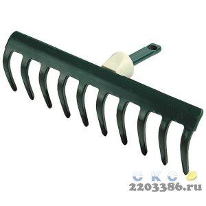 """Грабли RACO """"MAXI"""", 10 зубцов, с быстрозажимным механизмом, 250мм"""