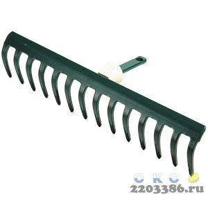 """Грабли RACO """"MAXI"""", 14 зубцов, с быстрозажимным механизмом, 360мм"""