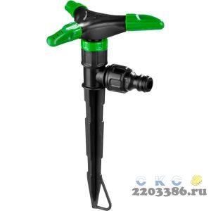 POCTOK РК-3, 19 м2 полив, круговой, 3-х лепестковый, распылитель стационарный, пластиковый