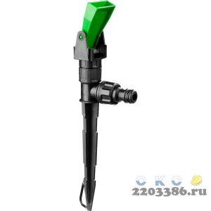 POCTOK РГ-1, 19 м2 полив, грядочный, на пике, распылитель стационарный, пластиковый