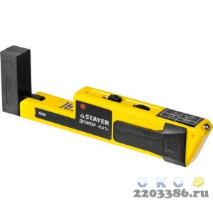 """Металлодетектор STAYER """"STANDARD"""" """"TOPElectro"""" многофункциональный, 2в1"""