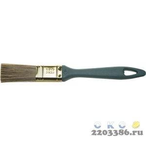 """Кисть ЗУБР """"КП-14"""" плоская, смешанная щетина, пластмассовая рукоятка, 25мм"""