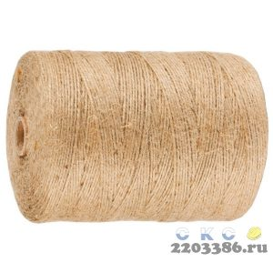 Шпагат ЗУБР строительно-отделочный, джутовый, 500м